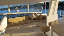 Yacht SILVER MOON -  Sundeck Seating
