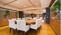 Yacht SIROCCO -  Formal Dining