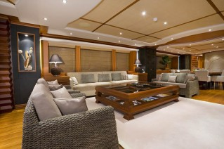 Yacht SIROCCO -  Main Salon