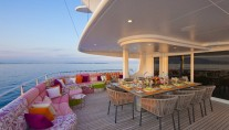 Yacht SISTER ACT -  Bridge Deck Al Fresco Dining