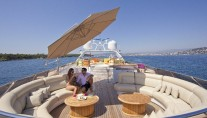 Yacht SISTER ACT -  Sundeck Seating