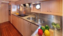 Yacht SKAZKA -  Galley