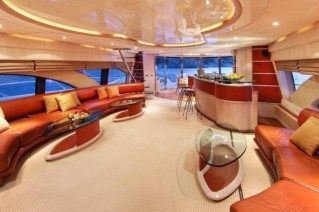 Yacht SKAZKA -  Main Salon