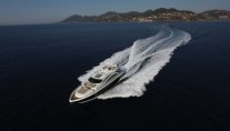 Yacht SKYFALL -  Cruising from above