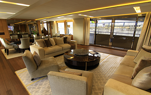 Yacht SOLARIS - Salon
