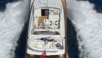 Yacht SOLONA -  Decks from above