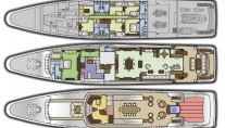 Yacht SOPHIE BLUE -  Layout