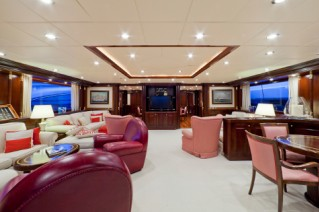 Yacht SOPHIE BLUE -  Main Salon looking Aft