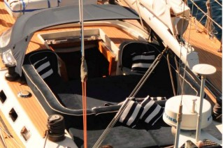 Yacht SOUTH WIND -  Cockpit