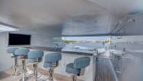 Yacht SOVEREIGN 55 - Bar on sundeck