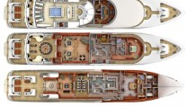 Yacht SOVEREIGN 55 - Layout