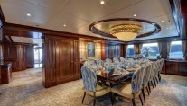 Yacht SOVEREIGN 55 - Main deck dining