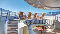 Yacht SOVEREIGN 55 - View point sundeck