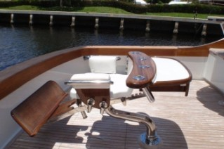 Yacht SPECULATOR -  Aft Deck