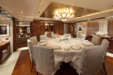 Yacht STARFIRE -  Formal Dining
