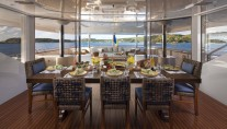 Yacht STARIRE -  Bridge Deck Dining