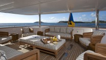 Yacht STARIRE -  Bridge Deck Exterior Seating