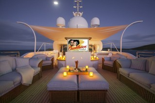 Yacht STARIRE -  Cinema on Sundeck