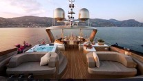 Yacht Soiree flybridge sunseek