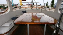 Yacht Southern Cross -  Aft Deck Seating