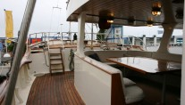 Yacht Southern Cross -  Aft Deck