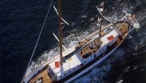 Yacht Southern Cross -  From Above