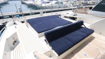 Yacht TEONE - Aft Deck Seating
