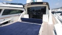 Yacht TEONE - Aft Deck