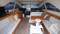 Yacht TEONE - Deck Salon