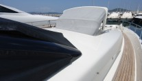 Yacht TEONE - Sunshade on foredeck