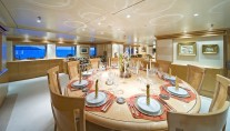 Yacht TITAN -  Formal Dining
