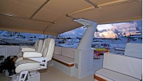 Yacht TRILOGY -  Upper deck Helm