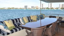 Yacht TRUE NORTH -  Aft Deck