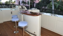 Yacht TRUE NORTH -  Flybridge Bar