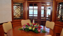 Yacht TRUE NORTH -  Formal Dining