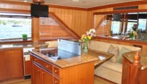 Yacht TRUE NORTH -  Galley 2