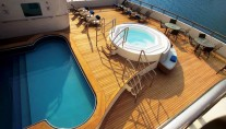 Yacht TURAMA - The Sun Deck & Spa Pool