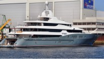 Yacht Titan a sistership to mega yacht C2-Photographer Groothuis