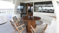 Yacht ULYSSIA -  Dining on Upper Deck