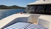 Yacht VICTORIA DEL MAR - Foredeck Sunpads