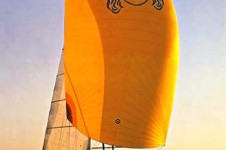 Yacht VIKING GIRL II -  Under Sail with Skinnaker