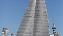 Yachting Developments-refitted Swan 90 superyacht Spirit under sail