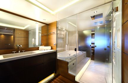 Luxury Yacht Charter ZALIV III - Master Bathroom - Mondomarine ...