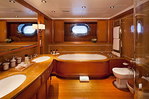ZENJI Bathroom Luxury Yacht Image