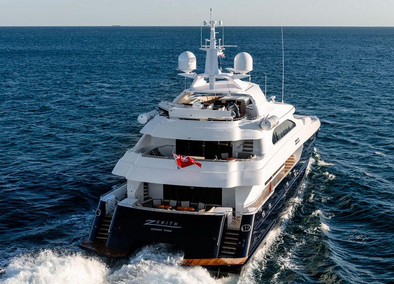 Yacht Zenith A Sabre Catamarans Superyacht Charterworld