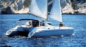 Athena 38 sailing catamaran