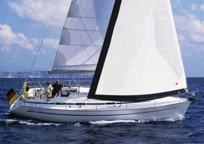 Bavaria 38 sailboat