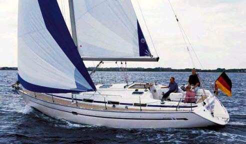 Bavaria 40 sailboat