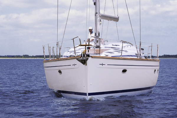 More Yacht Images. bavaria-50-bow2