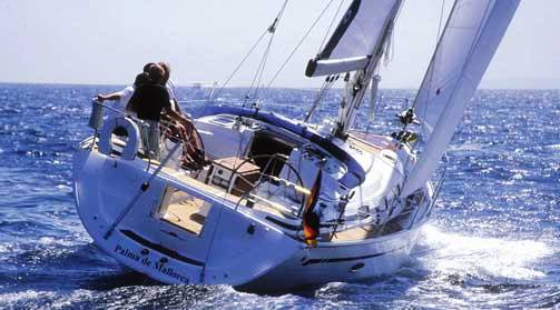 Bavaria 42 Sailboat